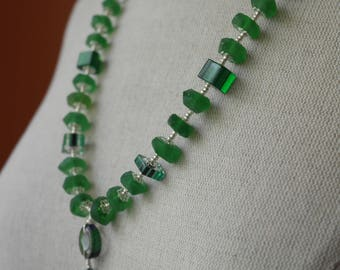 Gobs of Green Necklace