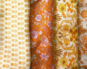 Fat Quarters, Silk Fabric, Sari Silk, FQ 177