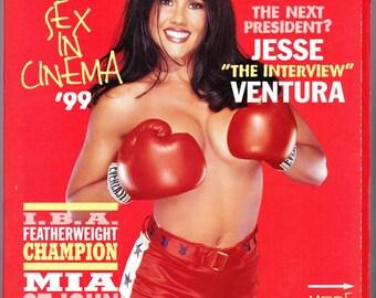 Playboy Magazine November 1999 with Supermodel/Boxer Mia St. John, Wrester Jesse Ventura, Country Singer George Jones, Sheryl Crow