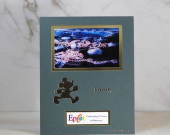 Vintage Disney 1998 Cast Member Exclusive limited print Celebrating 15 Years of Discovery Epcot, 4 0f 4