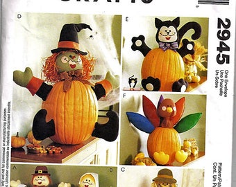 Pumpkin Pokes / Original McCall's Crafts Uncut Sewing Pattern 2945
