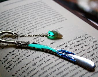 MERMAID Bookmark GLOW in the DARK -02
