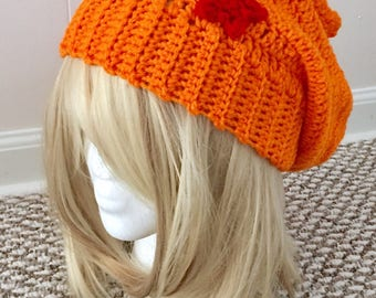 READY TO SHIP Dragon Ball Inspired Slouchy Hat - Women/Teens - Cosplay