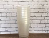 10 Blank Plastic Translucent White 16-Ounce Stadium Cups, Blank DIY Cups, Personalized Cups