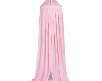 Pink Baldachin Bed Canopy 230cm