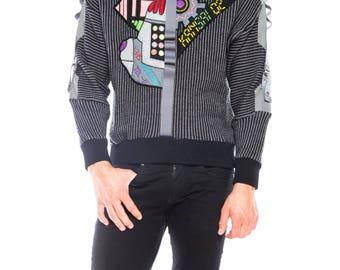 Mr. Roboto 80s Sweater by Kansai
