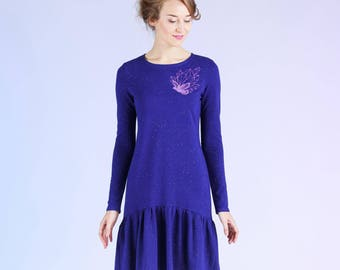 Stardust - dress with frill