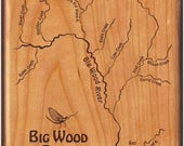 Big Wood River Map Fly Bo...