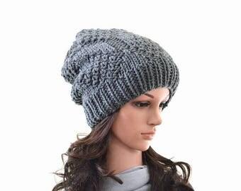 SALE Knit Slouchy Men Woman Hat Beanie Toque | The Portland