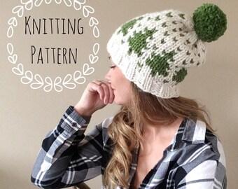 Timber Toque, Knitting Pattern, Fair Isle, Fair Isle Knit Hat, Chunky Fair Isle, Knit Hat, Knit Hat Pattern, Pattern, Knit Beanie Pattern