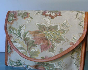 Vintage Walborg Made in Italy Tapestry Clutch