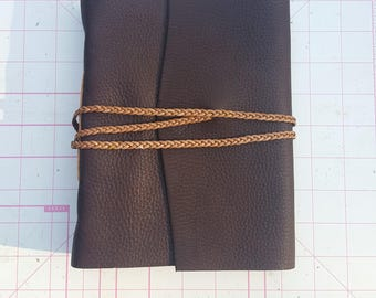 """Rustic Leather Journal, 6.5"""" x 8"""""""