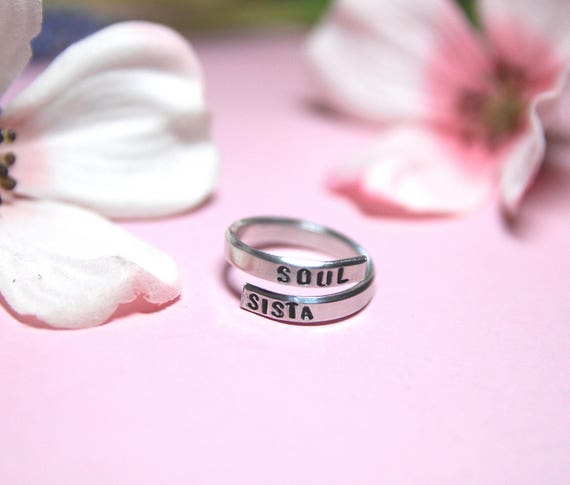 Soul sister jewelry. Sister jewelry. Best friend Jewelry. Bridesmaid gift.