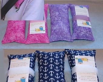 Pacemaker cushion, port pillow, seat belt pillow, Cancer pillows, Post Op,  Surgery, ostomy, travel pillow, G Tube,