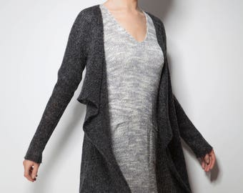 Cardigan asymetrical