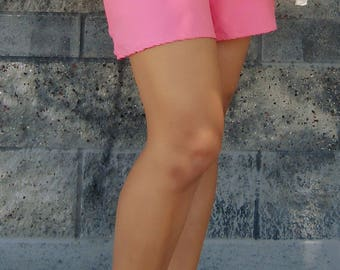 Tie Front Shorts - Pink - Barbie girl - clothing - cute