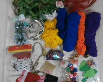 Lot of Craft Supplies New and Used