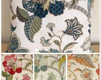 Floral Pillow Covers, Decorative Floral Pillow Cover, Sofa Pillow Cover, Bedroom Pillow Cover