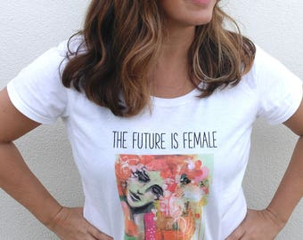 The Future is Female T-shirt for Women