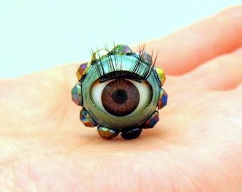 Eyeball Ring ~Halloween~Kitsch Jewellery