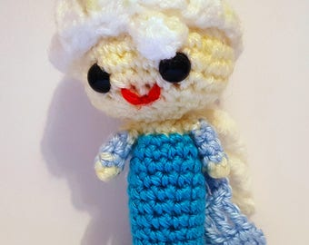 Elsa Frozen Princess Pal. Amigurumi Doll. Princess Pals. Disney Princess Crochet. Crochet Doll. Plush Toy. Disney Princess. Let it go. Olaf.