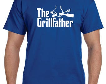 Thanksgiving Shirt Dad Gifts Father Gift Fathers Day Grilling Gifts For Dad Grandpa Gifts Father's Day Gift Husband Gift THE GRILLFATHER