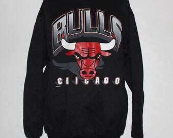 Vintage Chicago Bulls NBA Crewneck Sweatshirt L