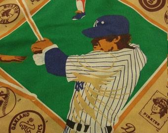 Baseball Twin Sheet Set