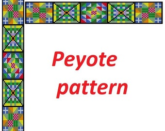 Weaving loom pattern design patterns for beading loom tutorial loom beading projects rainbow loom with beads instruction bracelet pattern