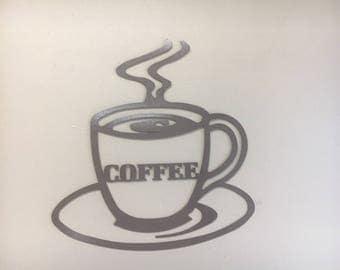 Coffee Cup Wall Decor