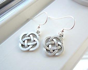 Irish Earrings - Celtic Knot Jewelry - Celtic Knot Earrings - Charm Earrings -Irish Jewelry - St.  Patrick's Day Jewelry