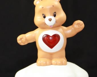 Upcycled Toy Ornament - Tenderheart - Care Bears