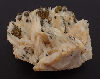 Baryte with Chalcopyrite from Belorechensk, Russia - 216gm / 68mm x 60mm x 43mm (40152)