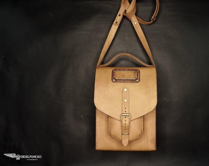 Messenger Bag - Leather Bag - Hand made Bag - Satchel Bag - Hand Made Bag - Unisex Bag