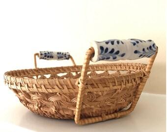 Woven Basket Wall Art woven bowl | etsy