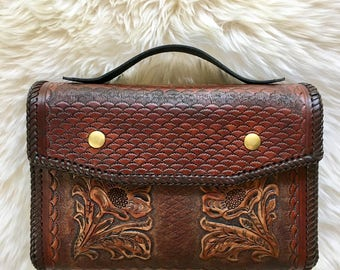 Custom Handcrafted Leather Bags, Bible Bags, Book Bags