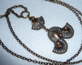 Pentti Sarpaneva. Necklace. Bronze. Vintage.