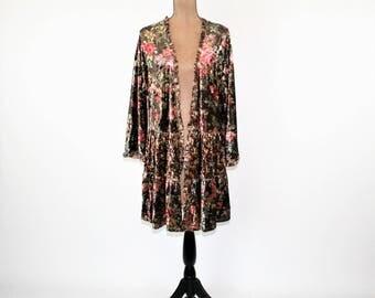 Velvet kimono | Etsy