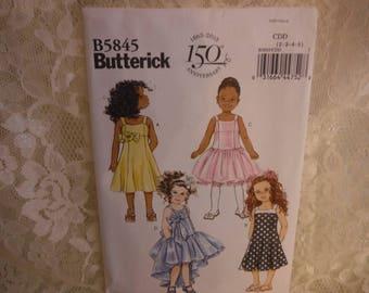 dress pattern for little girls