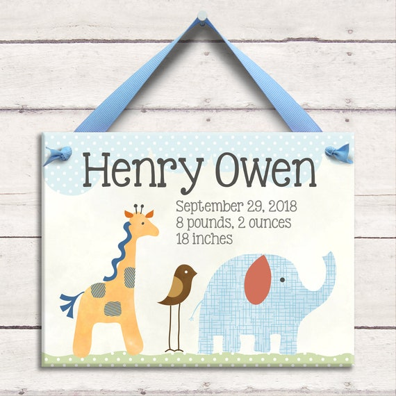 Little worm and company safari nursery personalized baby baby gift baby room sign safari art negle Images