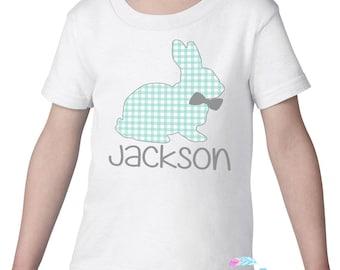 Easter Shirt For Boys, Plaid Easter Shirt, Personalized Easter Shirt, Easter Shirt With Name, Easter Shirt Toddler, Cute Easter Shirt