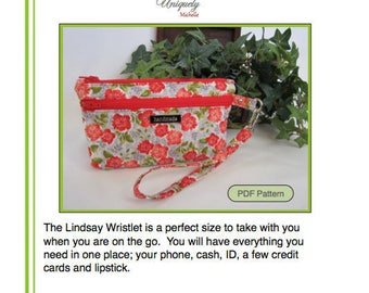 The Lindsay Wristlet PDF Pattern