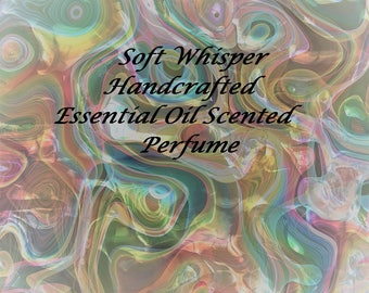 Essential oil perfume - Soft Whisper Scent - Essential Oil Fragrance - Roll on Fragrance - Roll on Perfume - All natural perfume - Perfume