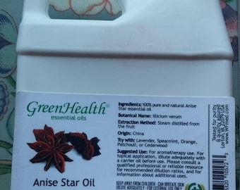 Anise Star Essential Oil 16 oz.