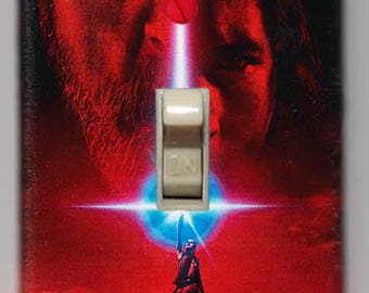 Star Wars The Last Jedi Movie Poster Light Switch Cover FREE SHIPPING