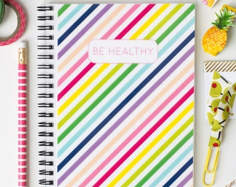 New Cover! Wellness Journal to track 21 Day Exercise Meals and Workouts - Carousel