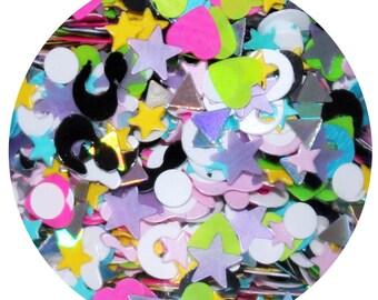 Misfit Toys | Christmas Chunky Body Glitter | Christmas Body Glitter | Loose Chunky Christmas Body Glitter | Christmas Hair Glitter