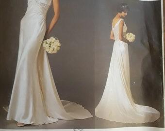 VINTAGE VOGUE 2627 Bellville Sassoon Wedding gown (SZ 14-16-18)