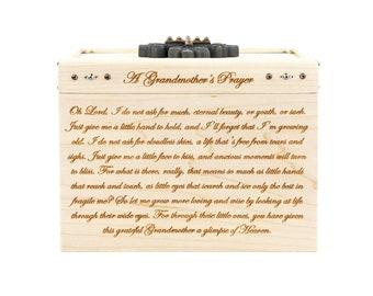 Wooden Prayer Box - Maple - Prayer Box - A Grandmother's Prayer