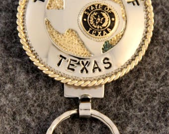 IN STOCK handcrafted The State of Texas key chain a  perfect gift for Him or Her!